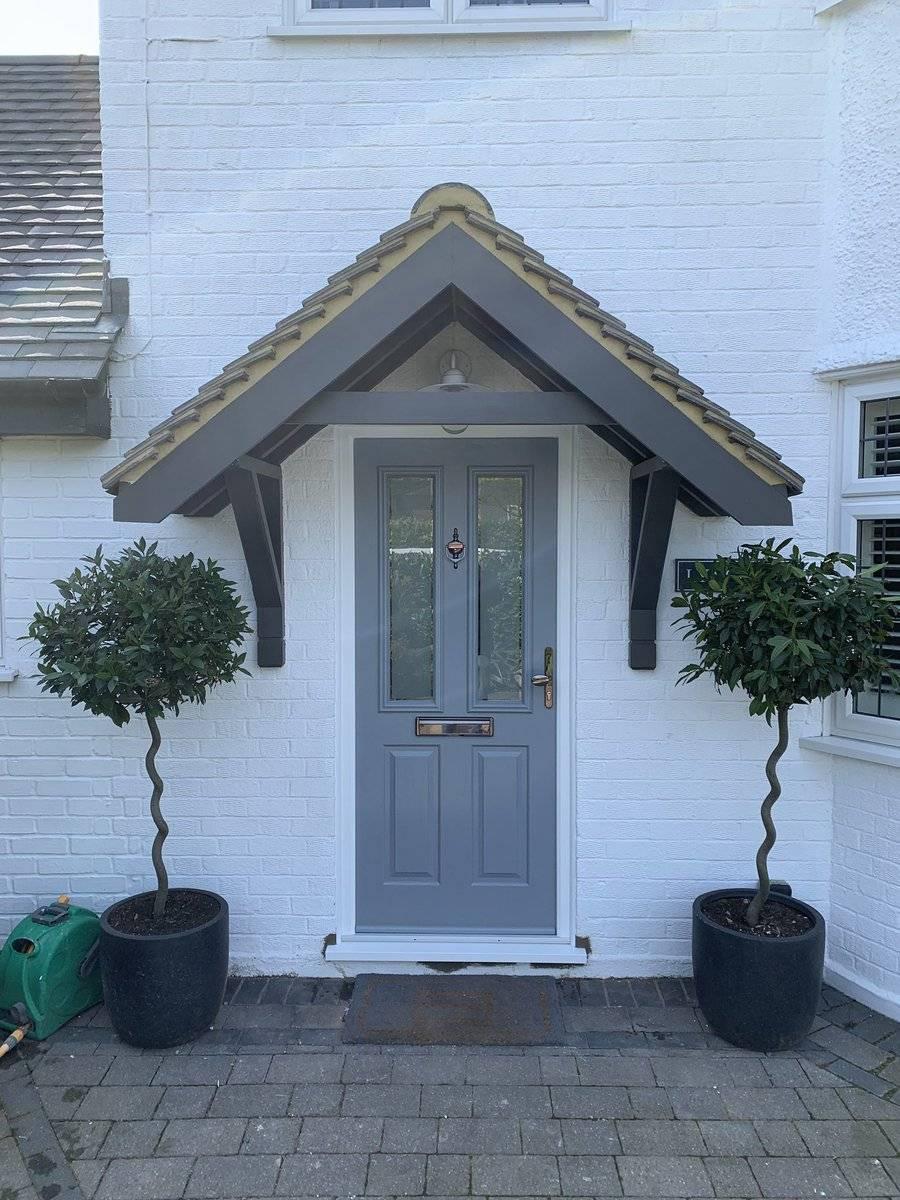 French Grey Solidor Composite Door